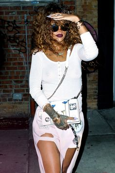 """Rihanna """"Out And About In NYC (Aug. 12) """""""