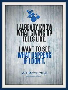 Go to http://www.lifevantage.com/ottawa  I am so glad that I joined....Christena Baillie