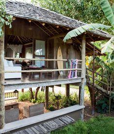 Los diseñadores de Estados Unidos, Bob y Cortney Novogratz se enamoraron de Brasil, donde pasan las vacaciones en compañía de sus siete hij...
