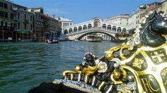 Rialto from the gondola Venice