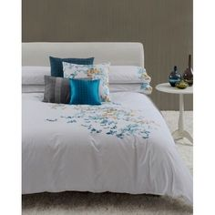 %100 Poplin Cotton Fabric Embroidered Duvet cover - Bed Clothes
