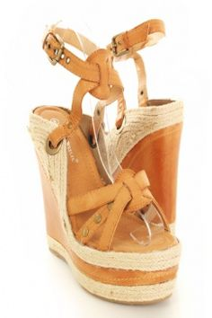 Beautiful camel color would look great with so many summer dresses! $28.99
