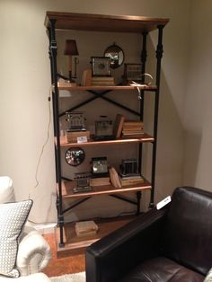 Another bookcase by Flexsteel Furniture. // www.KeyHomeFurnishings.com