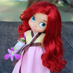 Ariel is looking so pretty here
