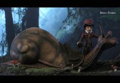 The Neverending Story Teeny Weeny Racing Snail 2 by yotaro-sculpts