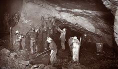 Widespread: At its peak, the mining industry employed as many as 25 per cent of Cornwall's...