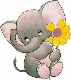 baby elephant, so cute Baby Elephant Drawing, Elephant Art, Elephant Love, Elephant Nursery, Elephant Tattoos, Nursery Art, Elephant Drawings, Baby Elephants, Cute Drawings