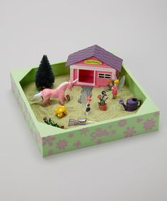 Take a look at this My Little Sandbox Fairy Garden by BE Good Company on #zulily today!