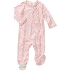Child of Mine by Carters Newborn Girls' Kitty Sleep n Play