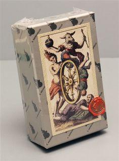 MINCHIATE FIORENTINE ETRURIA 1725 TAROT CARD DECK Reproduction from Meneghello