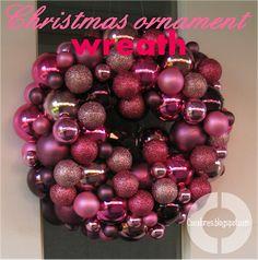 Cocalores: Christmas Ornament Wreath - Tutorial