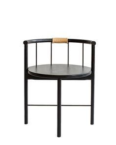Lloyd Dining Chair with Leather