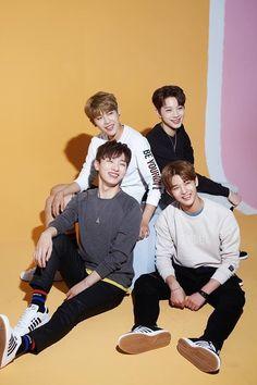 Jisung, Woojin, Guan Lin, Jinyoung
