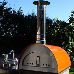 The Portable pizza oven FIESTA is ideal for a picnic or to go camping with you. Fits in the boot of any average car... It is also very handy to have at home!
