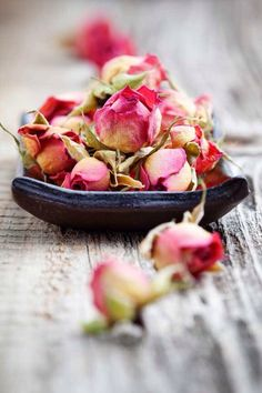 All summer, I've dried Rose buds and petals for my holiday potpourri mixture - Roses, Lavender, a tiny bit of Cinnamon, and a few small Pinecones. Wonderful fragrance...  ~~  Houston Foodlovers Book Club