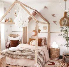 Bonfire Wallpaper • Spectacular Leaf Design • Milton & King   Girl bedroom decor, Girl room, Toddler