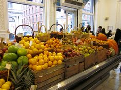 Dean & DeLuca's 'produce department'.  Need I say more?