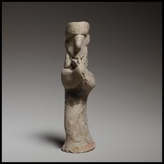 Standing male lyre player | Cypriot | Cypro-Archaic II, ca. 600-480 B.C | The Met