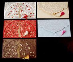 インドの封筒・祝儀袋 | 活版印刷・レタープレスの結婚式招待状オリジナルデザイン - RinRinPressリンリンプレス