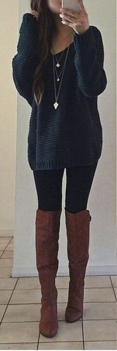I love everything about this Fall outfit. Lovely Fall Fresh Looking Outfit. 59 Magical Casual Style Looks You Will Want To Keep – I love everything about this Fall outfit. Lovely Fall Fresh Looking Outfit. Fashion 2017, Look Fashion, Winter Fashion, Fashion Outfits, Womens Fashion, Fashion Trends, Trendy Fashion, Cheap Fashion, Fashion Ideas
