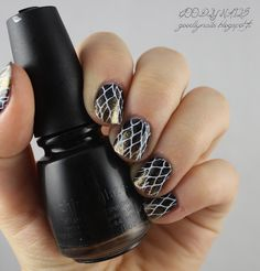 Goodly Nails: Leimauslaatta Qgirl-041