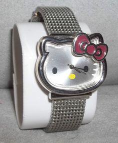 Genuine SANRIO Wristwatch HELLO KITTY New