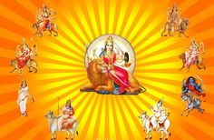 Nav Durga Happy Navratri Images