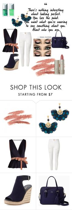 """""""Own it in 2017!"""" by peacock-style ❤ liked on Polyvore featuring Gas Bijoux, Roksanda, River Island, Prada, Kate Spade and Ilia"""