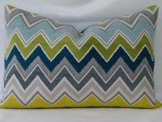 Zenyatta MondattaSchumacher  Lumbar Pillow by PillowTalkandMore, $65.00
