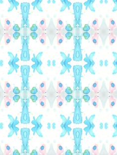 Wallpaper in a watery design by Eskayel
