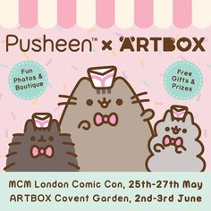 d7fb8145d 57 best Kawaii Events images in 2019 | Comic con, Pusheen, Plushies