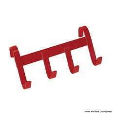 Stubbs Handy Hanger S94 As useful at shows as at home this 4 hook model will hang on fences doors etc Steel construction Stubbyfine coated Height