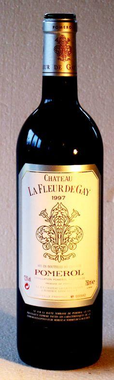 """05. Januar 2014  --  Château Fleur de Gay 1997, Pomerol, Bordeaux, Frankreich  - """"Fleur de Gay"""" steht im Schatten berühmterer Pomerols, die in diesem verhältnismässig kleinen Weingebiets relativ dicht beieinander liegen. Mehr noch: Fleur de Gay ist die sogenannte """"Microcuvée"""" (populärer: der Garagewein) des Weingutes Croix de Gay und wird vom Tausendsassa Michel Rolland """"geschliffen""""."""