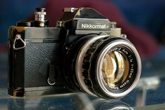 Nikkormat FT2… well used and well loved…Johnny Martyr