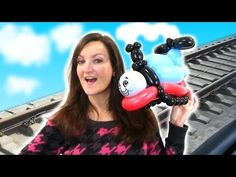 Watch me make a cartoon MOUSE parody with Balloons! Time-Lapse Balloon Animal! - YouTube