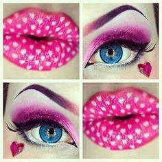 maquillaje de muñeca