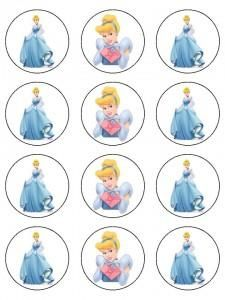 to see if I could find the attachment for the morning to see what happens Cinderella Cupcakes, Disney Princess Cupcakes, Princess Cupcake Toppers, Cupcake Toppers Free, Cinderella Birthday, Princess Birthday, Disney Printables, Bottle Cap Images, Bottle Caps