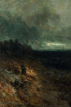 Before the Storm (1891) by Julius Mařák