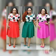Turkey Wears for sale in Isolo Office Dresses For Women, African Dresses For Women, African Print Dresses, African Print Fashion, African Fashion Dresses, African Attire, Fashion Outfits, Clothes For Women, Corporate Attire Women