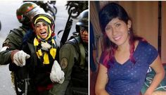 Represión brutal 16/3 Caracas.