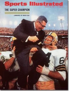 January 22, 1968 - The Green Bay Packers, Superbowl II Champions.