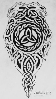 symbolic celtic tattoo concept by ticklemehoho traditional art mixed . Celtic Tattoo Meaning, Celtic Tattoo Symbols, Norse Tattoo, Viking Symbols, Viking Tattoos, Irish Celtic Tattoos, Celtic Dragon Tattoos, Body Art Tattoos, Tribal Tattoos