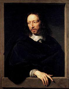 Philippe de Champaigne: Portrait of a Man, 1650