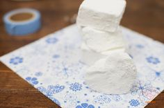 Nubes caseras (Marshmallow) | Pío Recetas Sweet Recipes, Camembert Cheese, Dairy, Food, Toddler Meals, Food Recipes, Sweets, Cuisine, How To Make