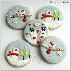 my first step for winter cookies collection :) hope you like it even though it is not a cake ;)