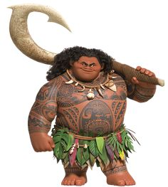 Check out this transparent Moana Maui PNG image Moana Disney, Walt Disney, Disney Art, Disney Movies, Disney Pixar, Disney Princess, Disney Characters, Disney Wiki, Moana Birthday Party