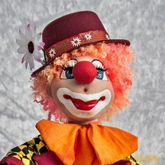 Author's doll Red klown