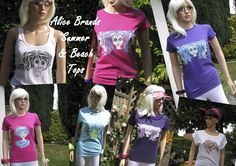 Alice Brands has a large range of womens Tops & Tees in vibrant yourful colours for summer and those heady days on the beach. Soft comfortable materials ideal for all occasions. http://etsy.com/uk/shop/AliceBrands … … See full range: http://alicebrands.co.uk/Pages/3/All+Products
