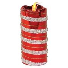 candles with red and white stripes - Google Search