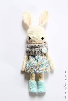 Mesmerizing Crochet an Amigurumi Rabbit Ideas. Lovely Crochet an Amigurumi Rabbit Ideas. Bunny Crochet, Crochet Mignon, Crochet Diy, Crochet Amigurumi, Easter Crochet, Love Crochet, Amigurumi Patterns, Crochet Animals, Crochet Crafts